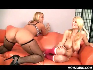 3some with lady and daughter bitch tasted