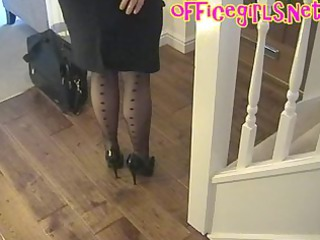 large chest mature associate inside nylons