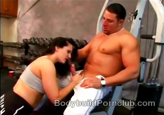 naughty brunette hair bodybuilder whore elle cee