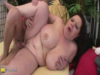 giant boobed mama getting a oral not empty of