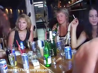 ladies teenagers drunken fuck celebration