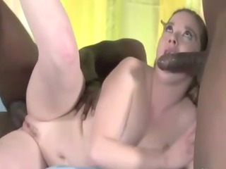 heavy mature likes two black slongs into her mouth