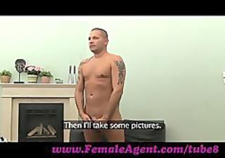 femaleagent. hot foot fetish casting