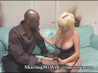 chubby boobed colorless wifey pierced by stud