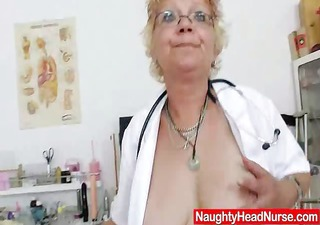 woolly grandma bushy cum-hole closeups