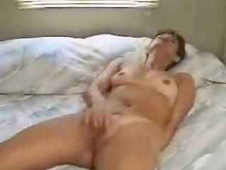 grownup inexperienced masturbation video