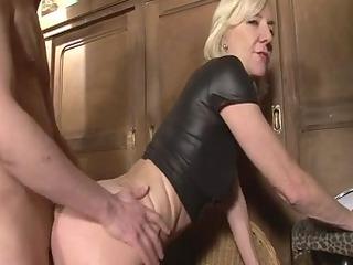 blonde older charlie banged right inside an dolf