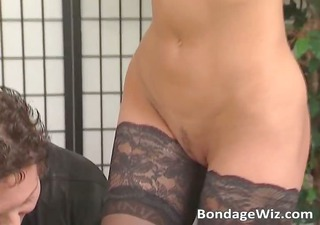 sexy mother i in nylons receives her meatballs