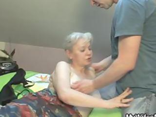 she sucks and fucks her son into law