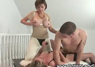 older femdom fetish fuck threesome