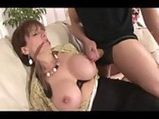 mature brief amp tied up and groped by home