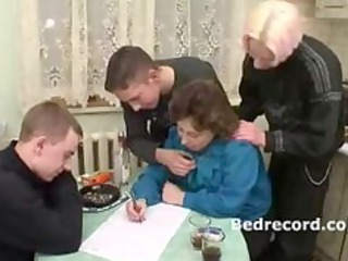 grownup russian with 3 guys 1