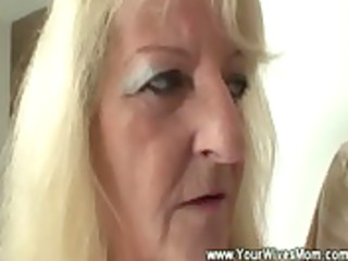 mother inside law wipes cock