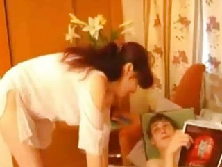 russian mother have fuck with son
