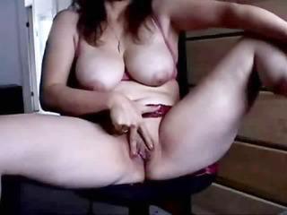 older  masturbating into front of cam