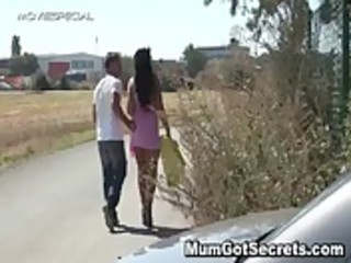 horny lady gets fucked hard openair free