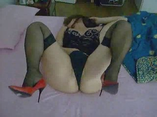 my lady dildoing