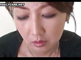 mature asian triple