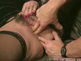 ass craving mature babe into ebony pantyhose