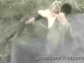 elderly wills to get mud wrestling to a new high