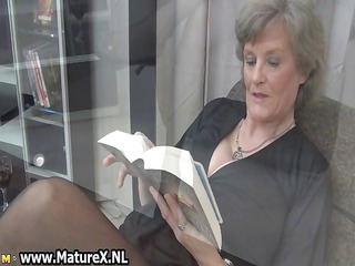 cougar maiden inside awesome black nylons part4