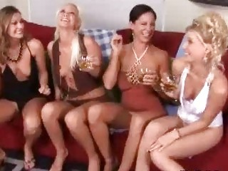 classy naughty woman babes having insane lesbo
