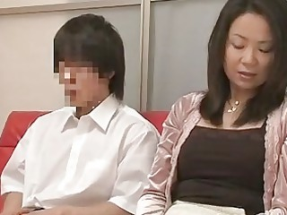 mother and son watching fuck together experiment