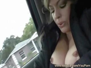 back seat spraying and pounding