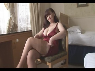 giant breast grown-up panty tease and striptease