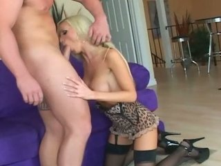 giant breasted blond mature babe drilled into