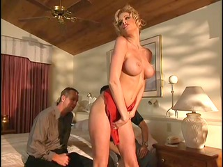threesome with a blond woman - vca