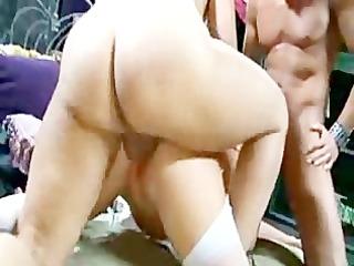 naughty albino inside crazy cumming orgy