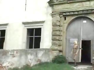 bleached elderly outdoor