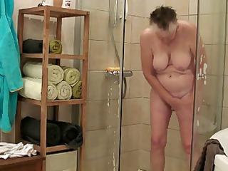 granny takes a bath