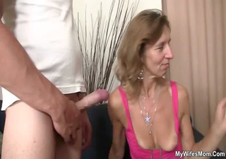 she is rides her son in law shlong