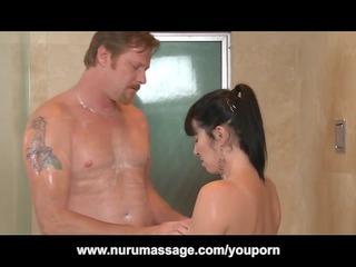 nuru massage pierce with huge tits lady rayveness