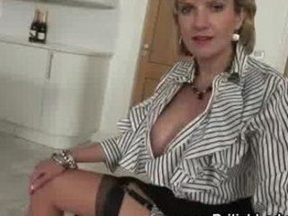 cougar femdom brit getting nude