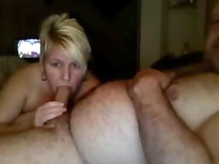 mature american couple suck and fuck on webcam