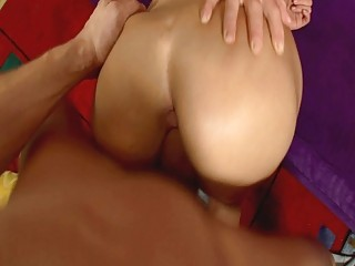 lusty lady girl roughly pumped on the armchair